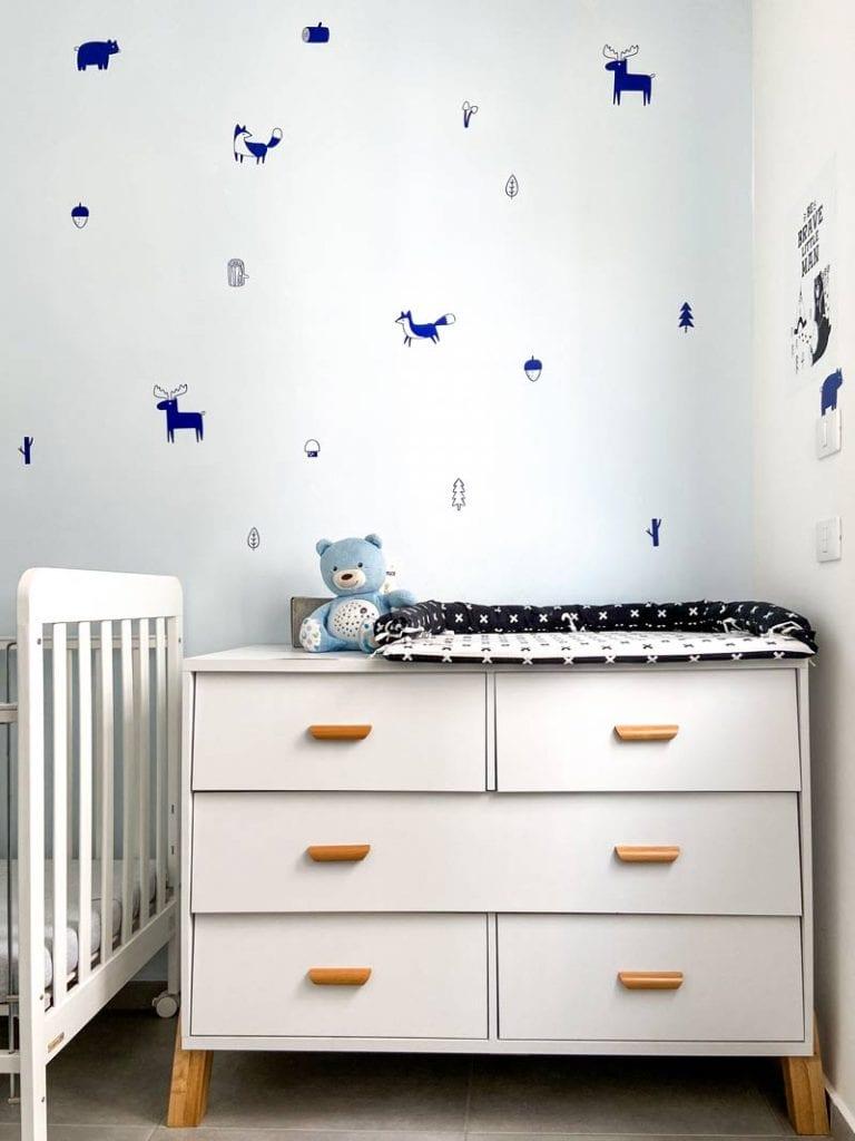 שידת החתלה בעיצוב חדרי ילדים