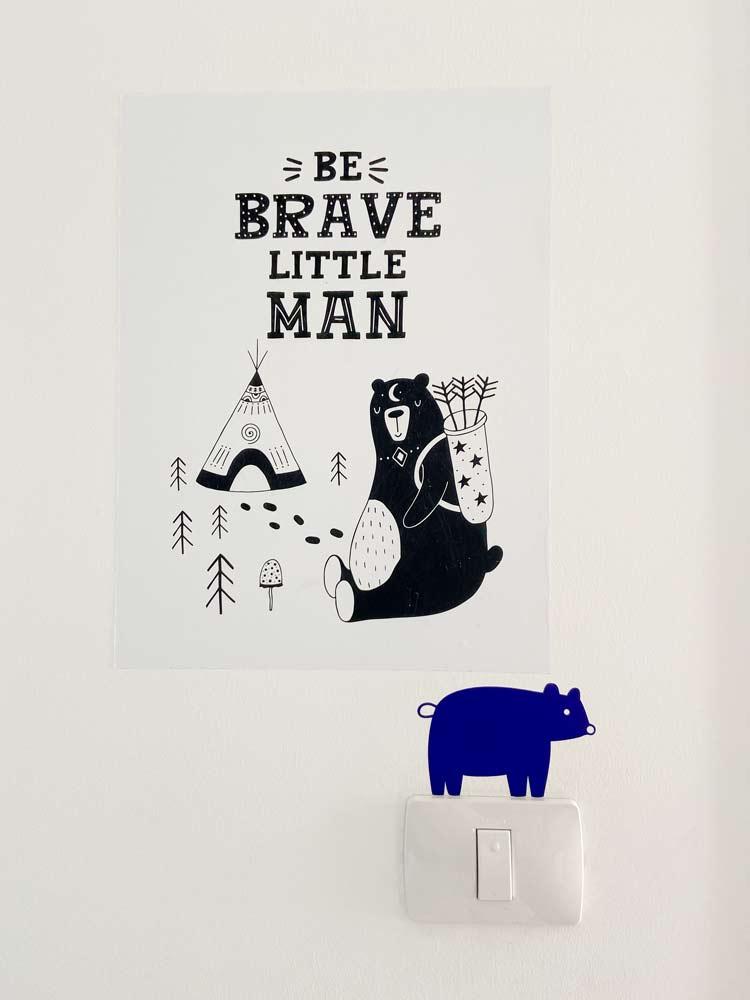 עיצוב חדרי ילדים מדבקות קיר דקורטיביות