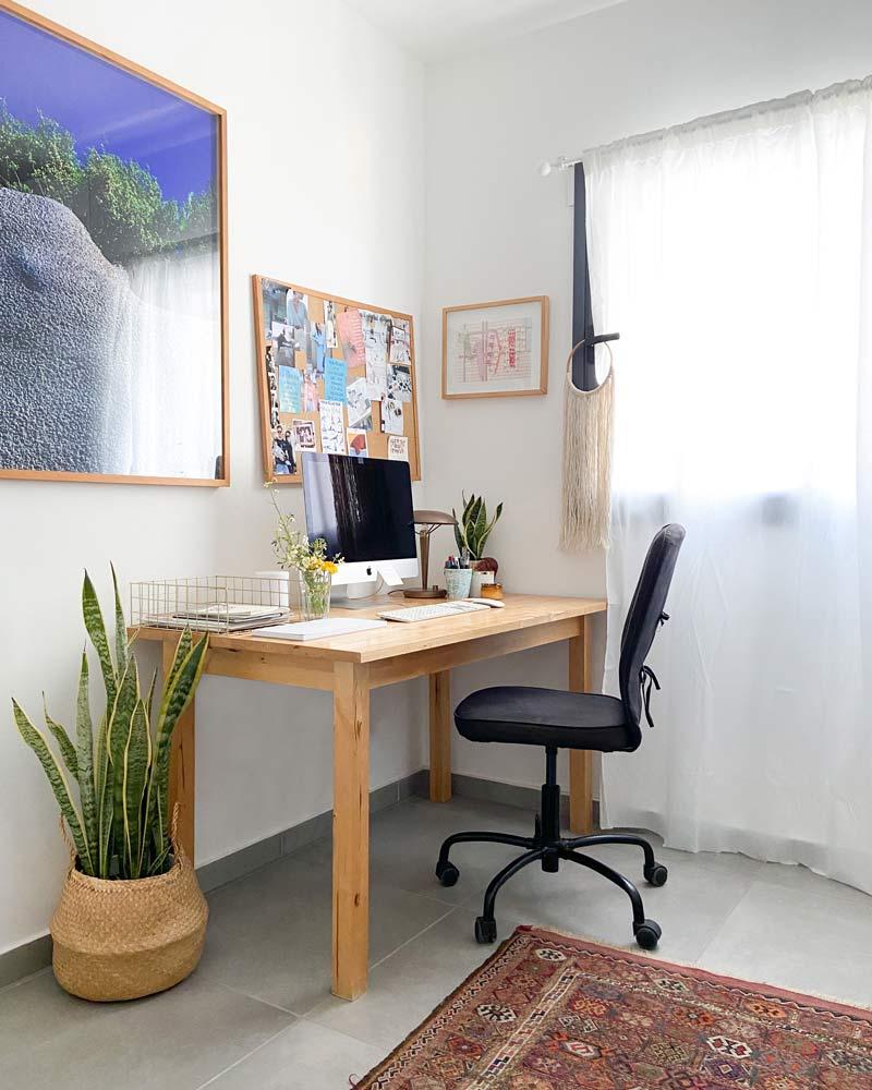 משרד ביתי מעוצב