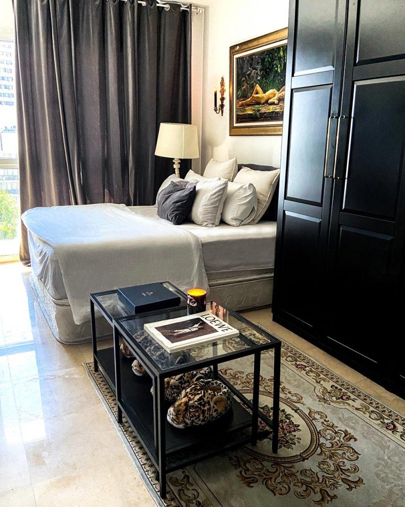חדר שינה דימה וגל דירה תל אביבית