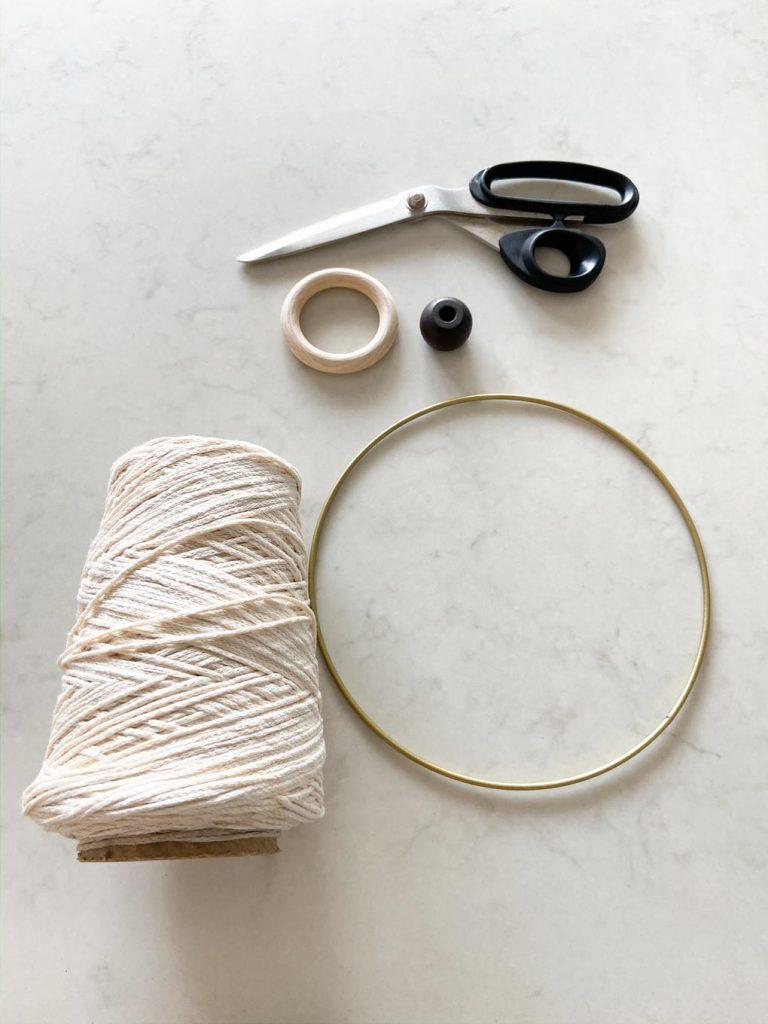 DIYs מטבח קלים חישוק מתכת מספריים חוט חזק