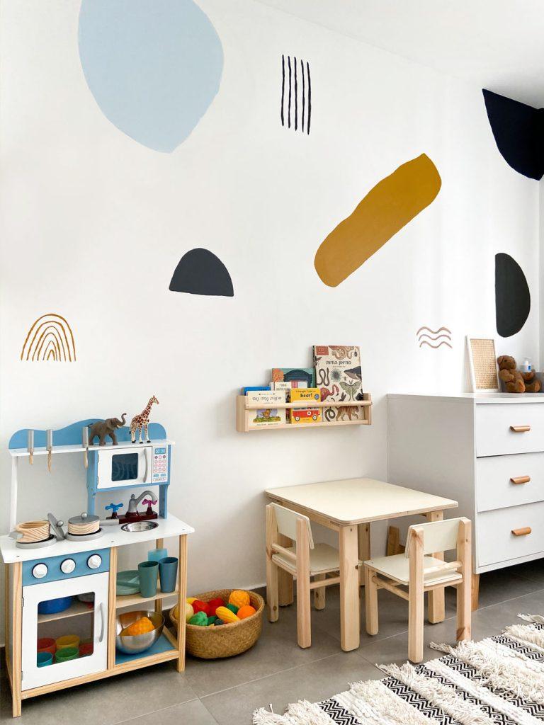 החדר של ג׳וני: עיצוב חדר ילדים לכבוד גיל שנתיים