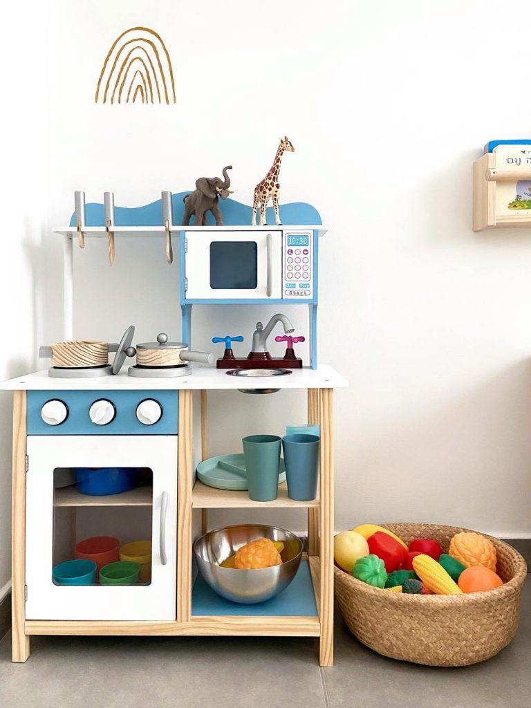 מטבחון עיצוב חדרי ילדים