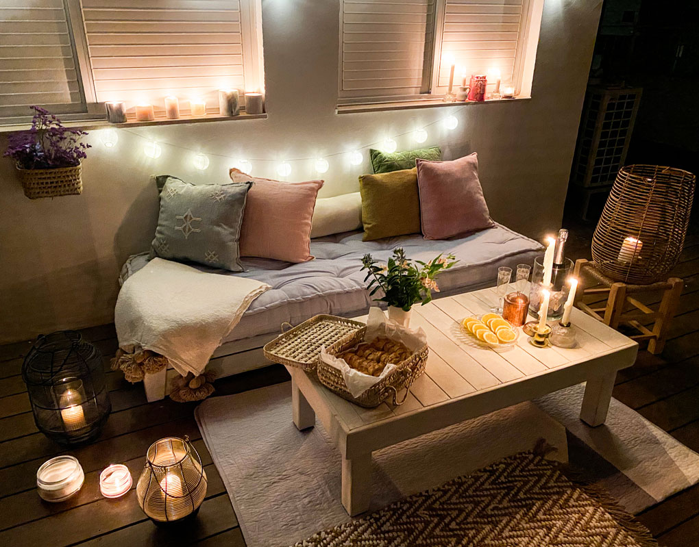 Date Night: כך עיצבתי ערב רומנטי בבית לקראת הסילבסטר