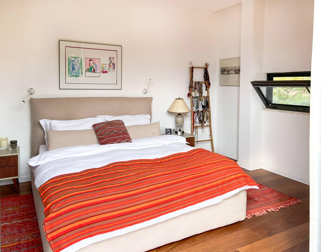 חדר שינה מעוצב Country House: סיור בבית של קלודיה ודיוויד