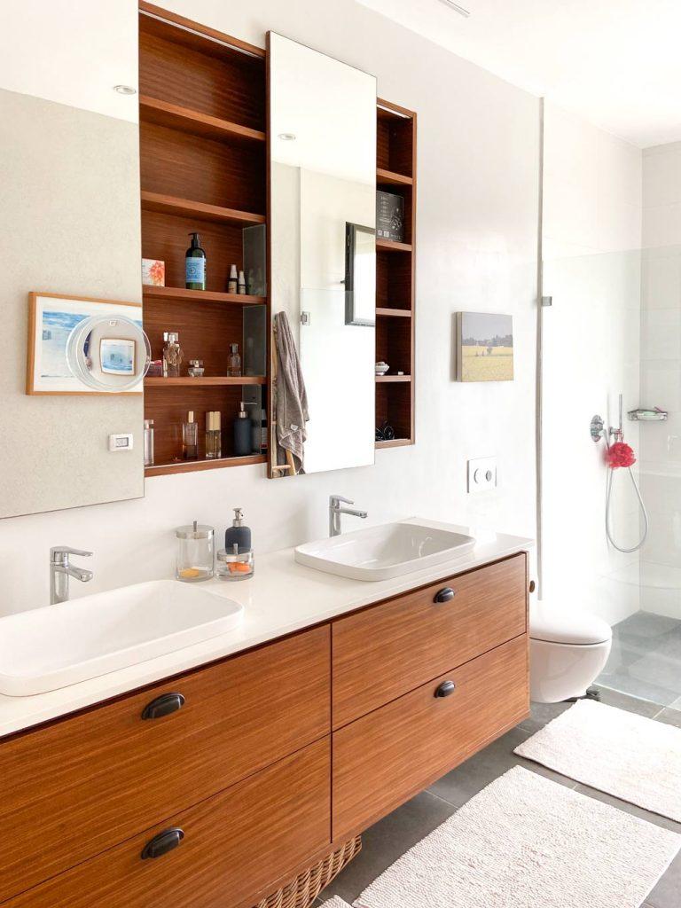 אמבטיה זוגית כיור