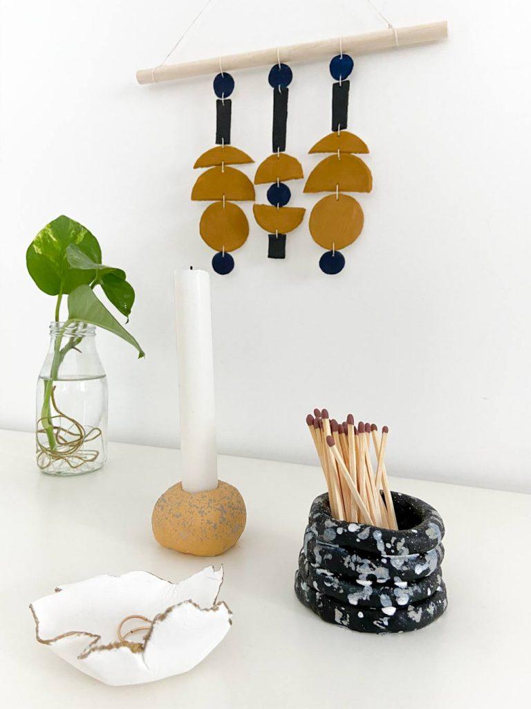 בואו לפסל איתי: DIY חדש עם חומר הפיסול Air Dry Clay