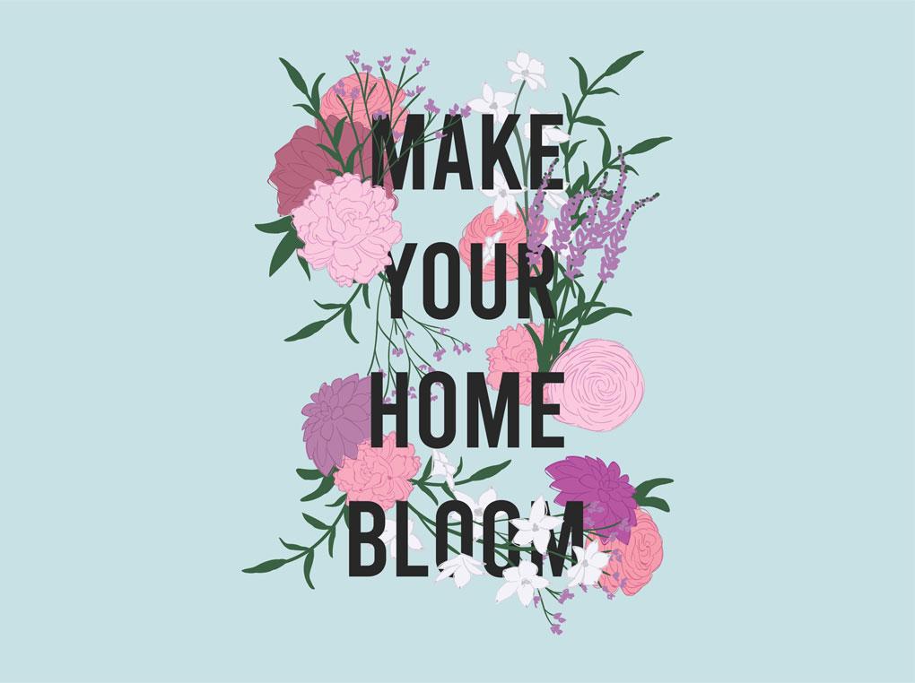 Make Your Home Bloom: על פרחים ושילובם בבית