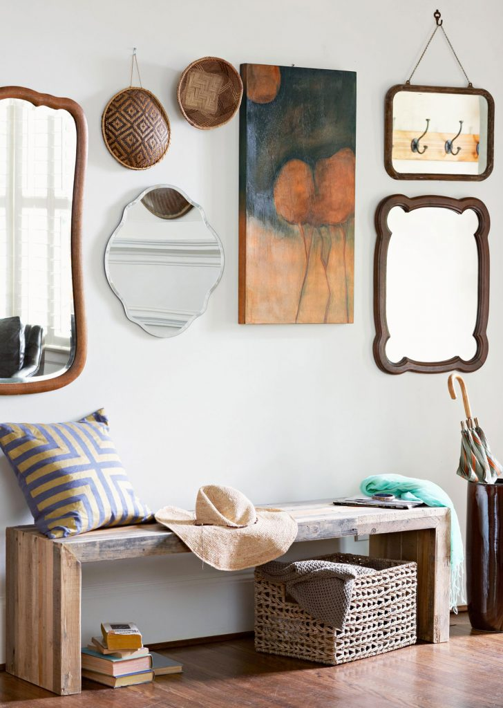 עיצוב קיר מעורב סגנונות- חוששים מהקיר הלבן? קבלו עשרה רעיונות נגישים לעיצוב קיר ריק