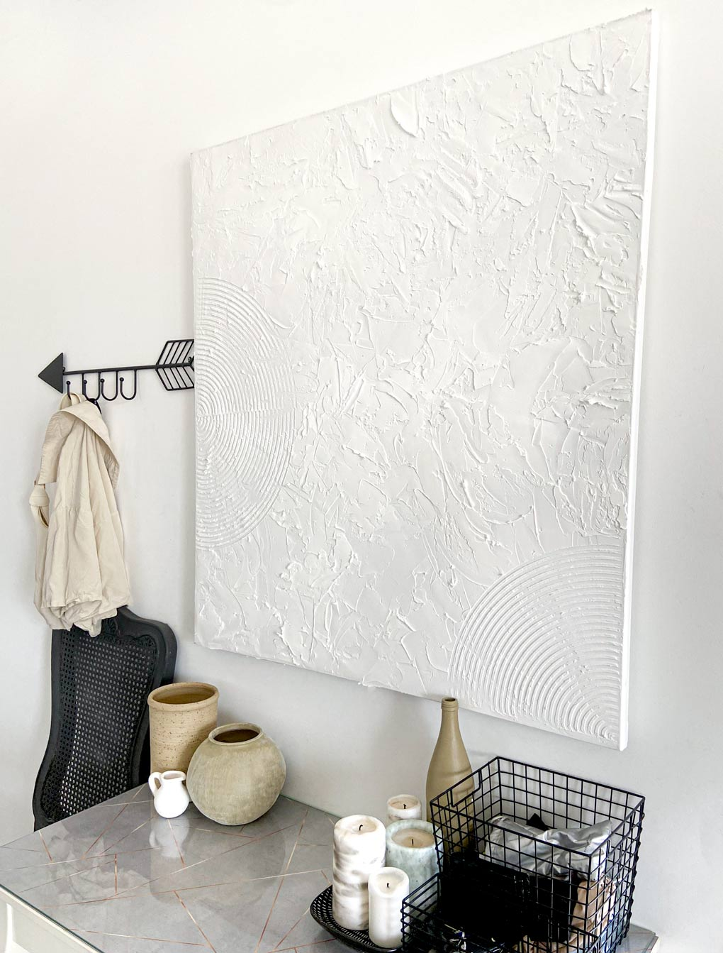 diy קל לתלייה על הקיר